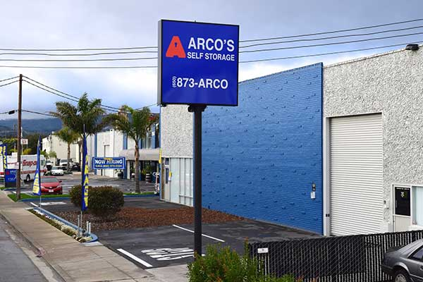 Self Storage In South San Francisco Linden Ave Amp Airport Blvd